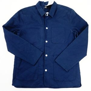 New Levis CA Mission Jacket In Navy Blue
